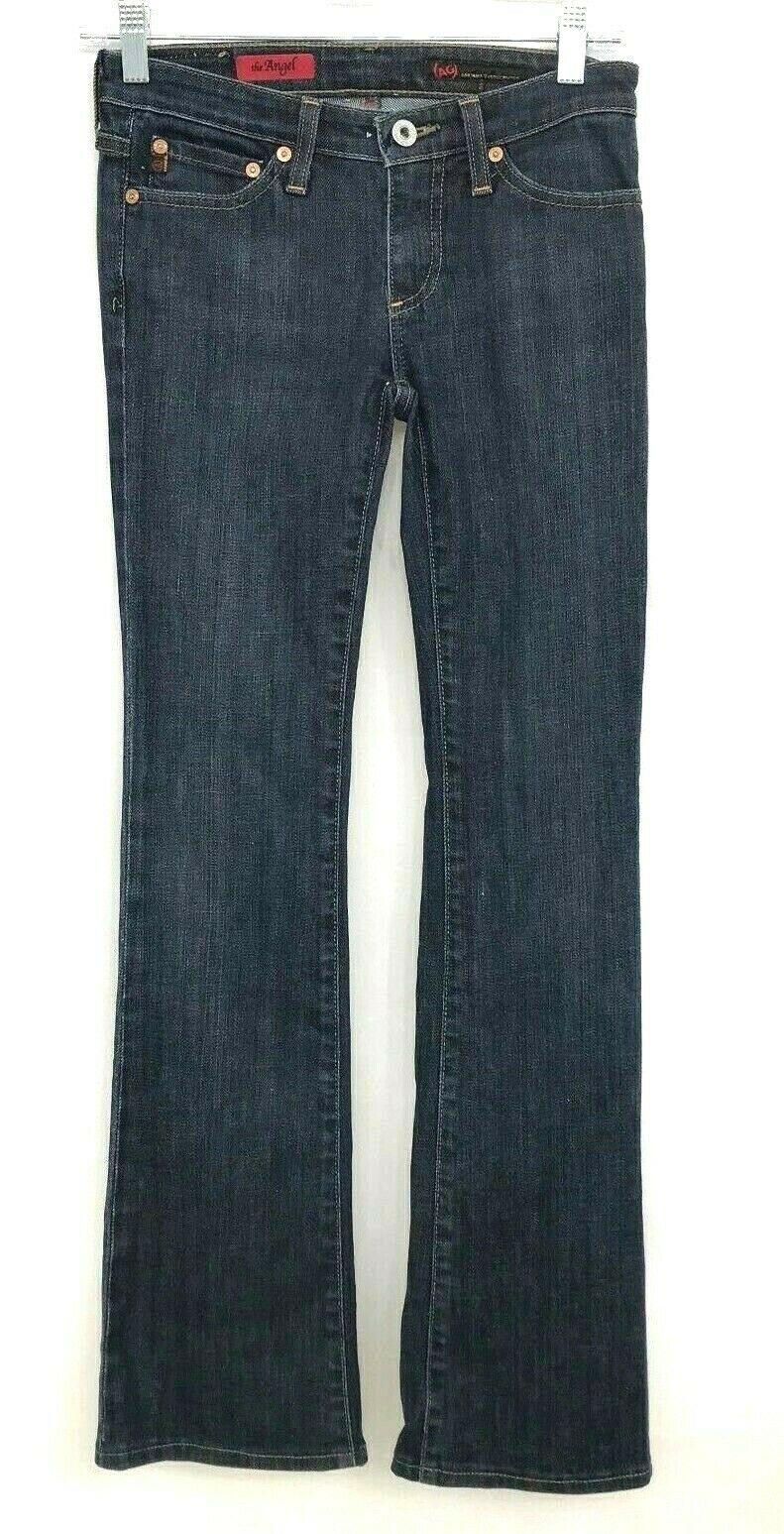 AG Adriano goldschmied Jeans  Womens The Angel W24R L30 Bootcut Dark bluee Wash