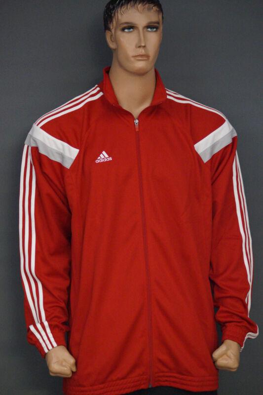 Adidas Command Jacket Rosso Red Sport-tempo Libero-allenamento Giacca F93792--trainingsjacke F93792