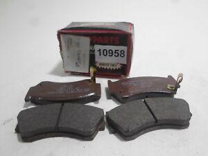 Pills Front Brake Pads Brake Pad Set Front NIPPARTS Almera 1.6 95