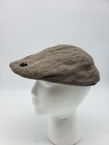 Guinness Classic Plaid Ivy Cap Beret Cap Hat Used