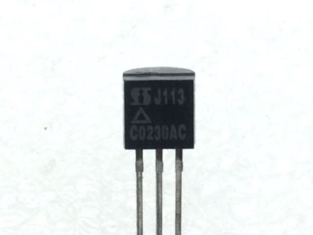 50 pieces TO-92 -25V FAIRCHILD SEMICONDUCTOR J107 N CHANNEL JFET