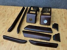 RANGE ROVER HSE L322 OEM FRONT DASHBOARD DOOR PANELS  MOLDING WOOD TRIMS