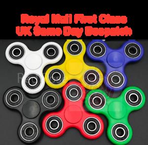 250 X Dedo Mano Focus Spin Spinner intranquilo EDC Cojinete estrés juguetes vendedor del Reino Unido