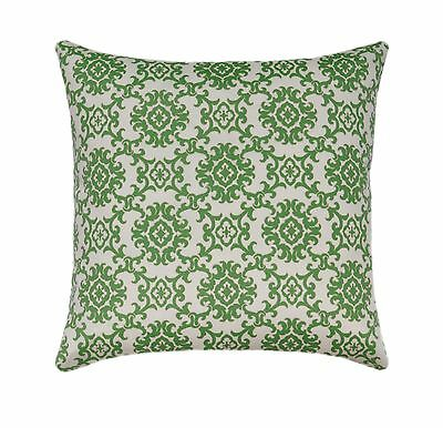 "20"" Green Medallion Outdoor Pillow, Tommy Bahama Medallion Isle Jungle Pillow"
