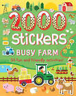 2000 Stickers Busy Farm: 36 Fun and Friendly Activities! by Emily Stead (Paperback, 2016)