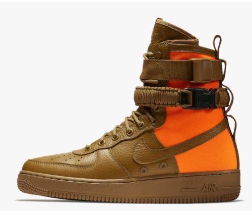 ocre del Nike Tamaño 903270 778 Eur Air Af Force desierto Qs Af1 1 42 8 Naranja Hombres 5 ZaUwqq