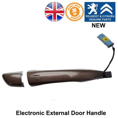Peugeot 308 508 Expert Traveller External Door Handle Driver Side Right Brown