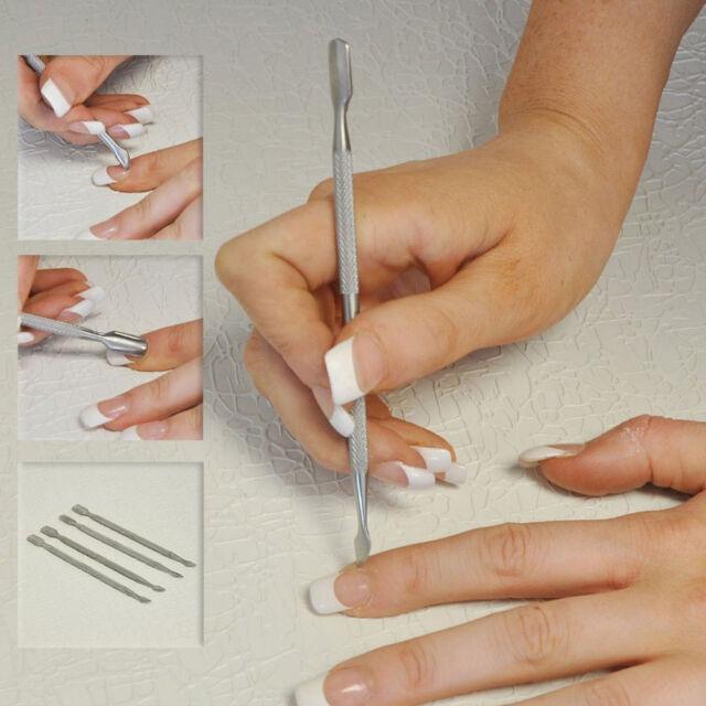 20pcs Nail Art Orange Wood Sticks Cuticle Remover Pedicure Manicure ...