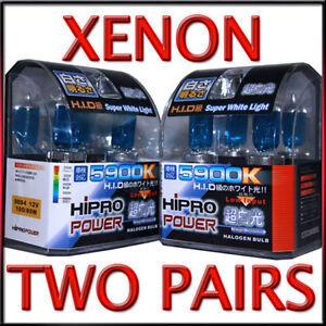 XENON-HID-HALOGEN-HEADLIGHT-BULBS-1992-1993-1994-1995-1996-JAGUAR-XJS-4PCS
