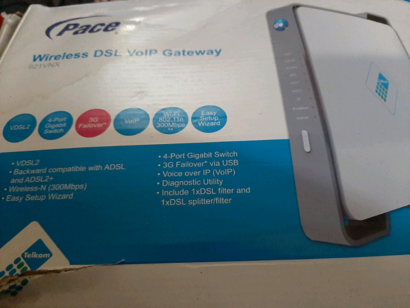 Pace Wireless Dsl Voip Router For Sale