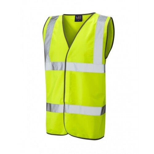 LEO Workwear Tarka CLASSE 2 Giallo Hi Vis Gilet
