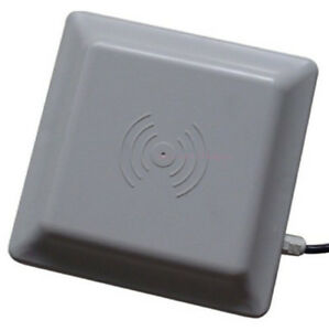 Details about RS232/RS485/Wiegand Integrative UHF RFID Card Reader 6M Long  Range 8dbi Antenna
