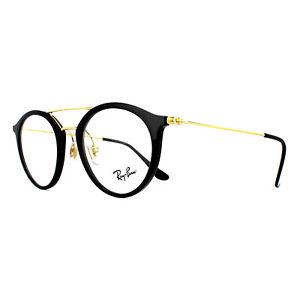 9a20063a0de24 Ray-Ban Glasses Frames 7097 2000 Shiny Black 49mm Mens 8053672603620 ...