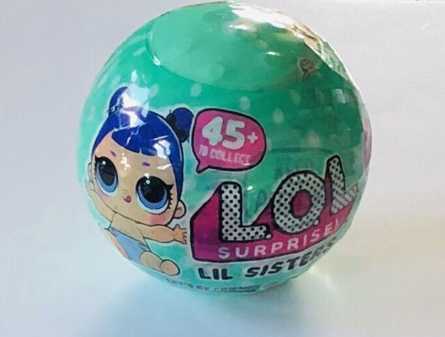 Ball LOL Surprise LIL SNOW ANGEL Series 2 Lil Sisters Authentic Sealed in L.O.L