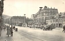 AK Aue Sa. Altmarkt Auto Geschäfte Echt Foto Postkarte