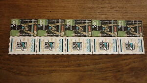 PORT-ADELAIDE-TEAM-OF-THE-DECADE-MINT-VIGNETTE-STAMPS-BRENDON-LADE