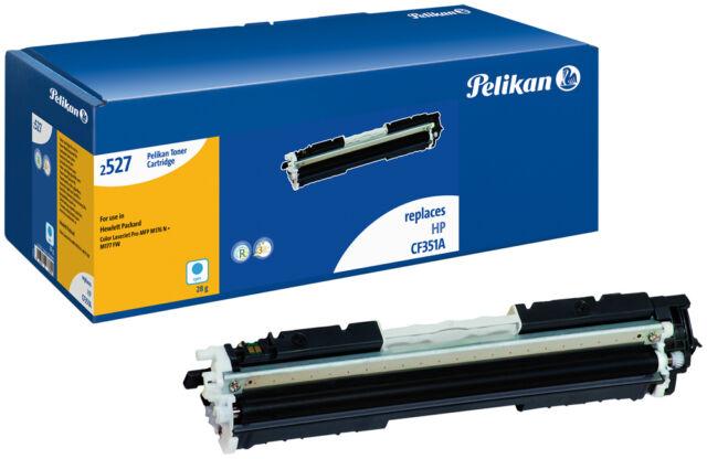 Pelikan Tóner Para HP CF351A Color Laserjet Pro MFP M176 N / M177 Fw Etc. Cian