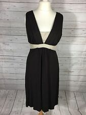 Women's Betty Jackson Black Dress - Size Uk14 - Great Condition