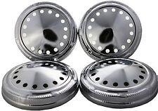 Dog Dish Poverty Hub Caps For Mopar Plymouth Dodge Chrysler Set of 4