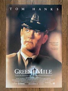 The Green Mile 1999 Tom Hanks Double Sided Advance 1 Sht Stephen King Story Ebay