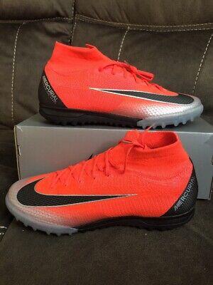 size 40 3a132 f1b34 Men's Nike MercurialX Superfly 360 Elite CR7 TF Football Shoe Sz 7 AJ3572  600 | eBay