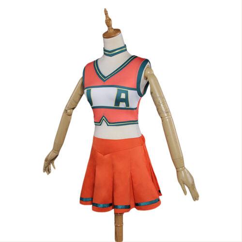 Boku no Hero Academia My Hero Academia Cheerleading Uniform Cosplay Costume