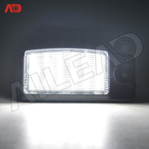 2X OE-Replace SMD LED License Plate Light Assy For Nissan Altima Rogue Infiniti