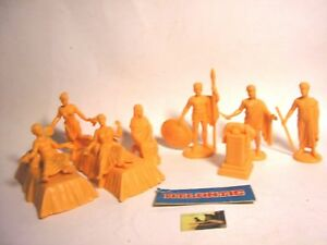 Soldatini Toy Soldiers Atlantic Vita nell' Acropoli scala 1:32