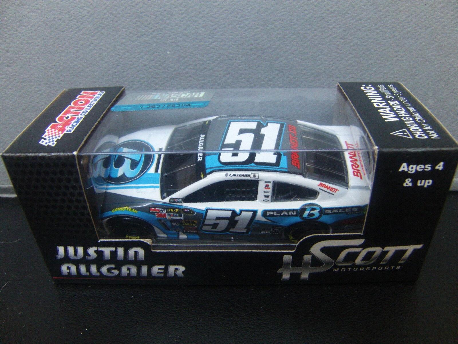 RARE Justin Allgaier 2014 Plan B Sales Chevy SS 1 64 NASCAR