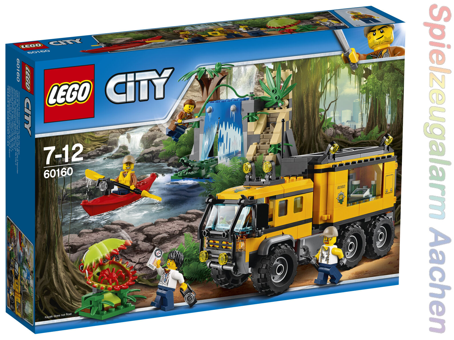 LEGO City Jungle Explorers Mobiles Dschungel-Labor 60160 N7 17
