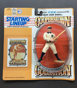 TY COBB 1994 Starting Lineup Figure Cooperstown Collection MLB Baseball NEW