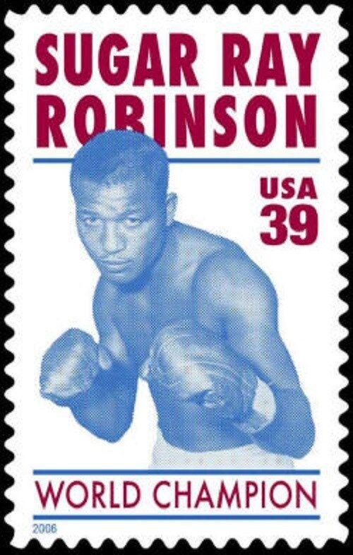 2006 39c Sugar Ray Robinson, American Professional Boxe