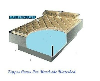 Mattress Cover.California King Zipper Mattress Cover For Hardside Waterbeds Ebay