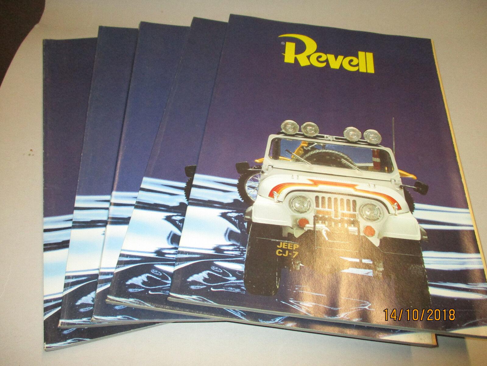 Revell Model Bausätze Katalog 1981  mit preisliste 1 1981