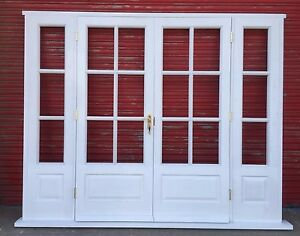 Outstanding Wooden French Doors With Sidelights Gallery - Exterior ...
