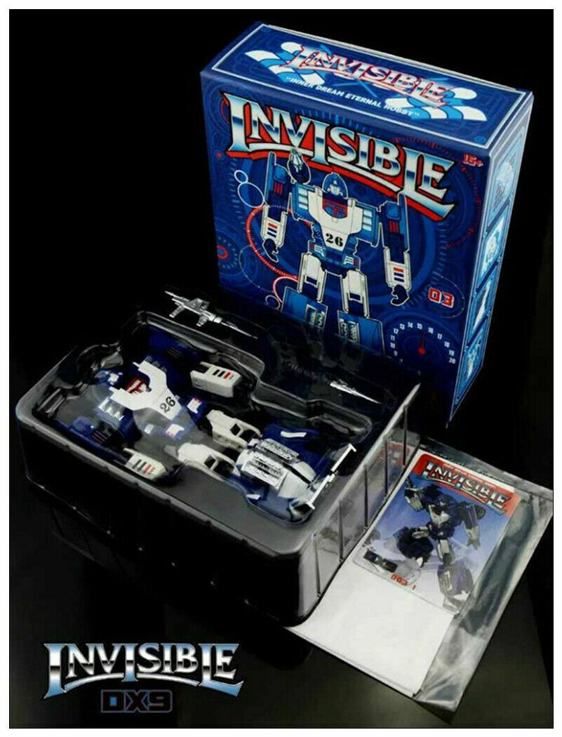 IN STOCK Transformers giocattolo DX9 D03 Invisible G1 Mirage azione cifra