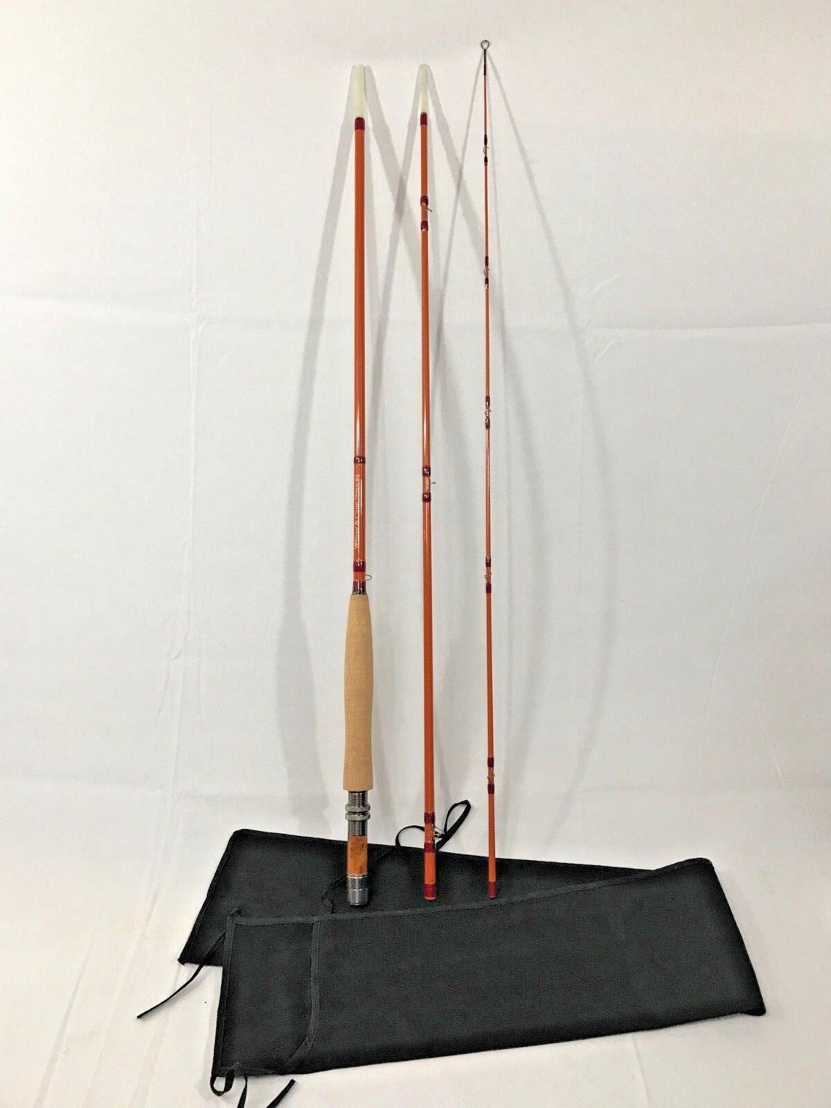 Pesca con Mosca Nº 3 WT Vidrio-Nuevo-naranja Usa
