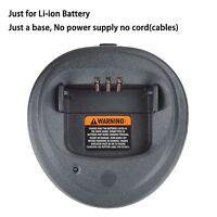 Base No Power Supply For Motorola Cp200 Portable Radio Li-ion Battery Charger