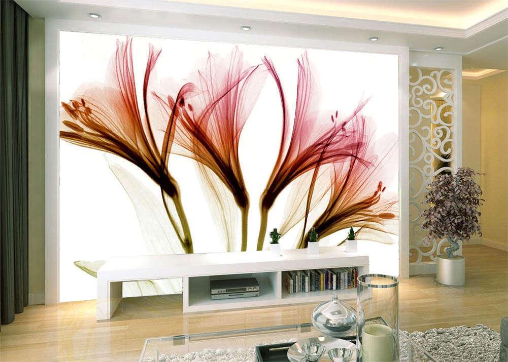 Flower Of Dancing 3D Full Wall Mural Photo Wallpaper Printing Home Kids Decor