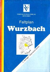 Stadtplan, Wurzbach Thür. und angrenzende Gemeinden, 1997