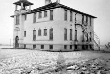 Photo. 1930s. Surrey, North Dakota. School Building