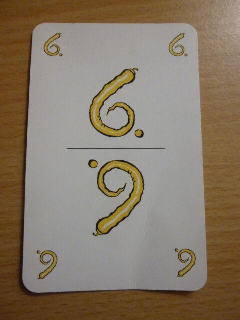 Kartenspiel Pepper - das schotenscharfe Kartenspiel -  Ersatzkarte 6