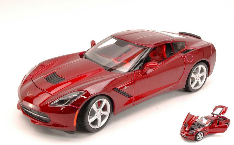 en promociones de estadios Chevrolet Corvette Stingris Stingris Stingris 2014 metalizado rojo 1 18 Model maisto  Seleccione de las marcas más nuevas como