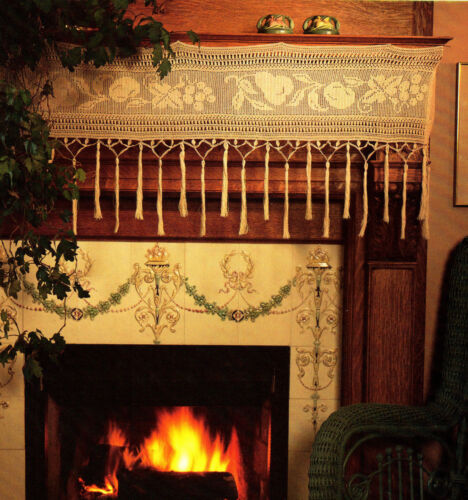 EXQUISITE Mantel Elegance//Doily//CROCHET PATTERN INSTRUCTIONS ONLY