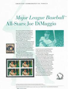 900-45c-Forever-Joe-DiMaggio-4697-USPS-Commemorative-Stamp-Panel