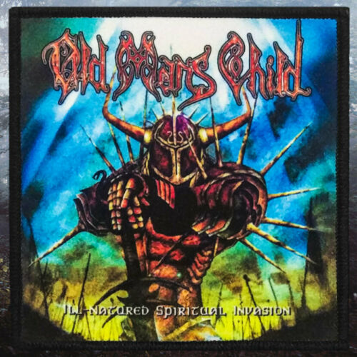 Old Man/'s Child Ill-Natured Spiritual InvasionPrinted PatchBlack Metal