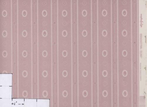 Cameo Stripe Reverse 144D234  dollhouse wallpaper 1pc