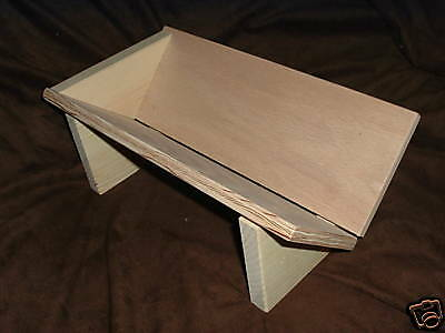 Sweet-Tempered Punching Piercing Sewing Cradle Sturdy Plywood Bookbinding Book Sewing Hole 3173
