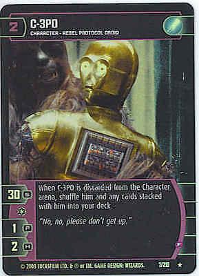 Star Wars TCG ESB K-3PO A