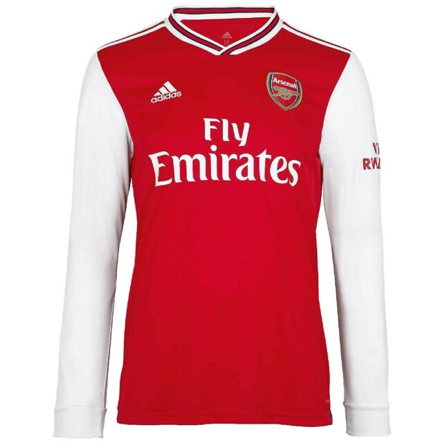 adidas Arsenal Home Jersey Long Sleeve Eh5645 Size Small for sale ...